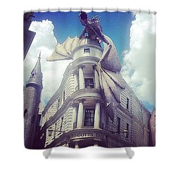 Gringotts  Shower Curtain