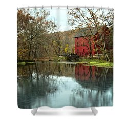 Grist Mill Wreflections Shower Curtain