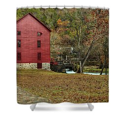 Grist Mill Wtrees II Shower Curtain