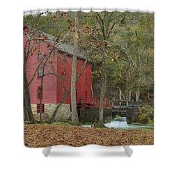 Grist Mill Wwaterfall Shower Curtain