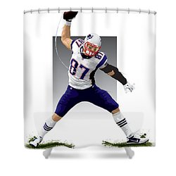 Gronk Shower Curtain