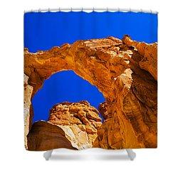 Grosvenor Arch Shower Curtain by Chad Dutson