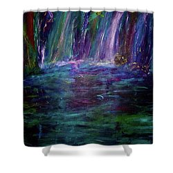 Grotto Shower Curtain by Heidi Scott