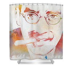 Groucho Marx Shower Curtain by Dan Sproul