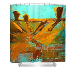 Ground Elements Shower Curtain