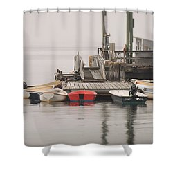 Group Meeting Shower Curtain