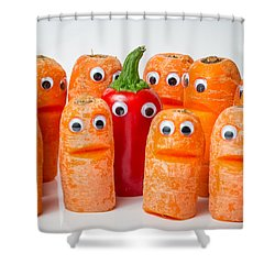 Group Photo. Shower Curtain