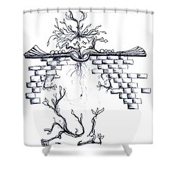 Growing Nowhere Shower Curtain