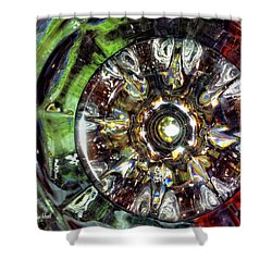 Growing Passion Shower Curtain by Donna Blackhall
