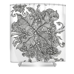 Growing Vines Shower Curtain