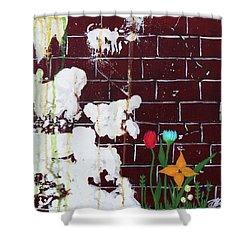 Growth Shower Curtain by Cyrionna The Cyerial Artist