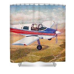 Grumman 1aa-1b  Shower Curtain