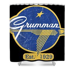 Grumman Est 1929 Distressed Shower Curtain