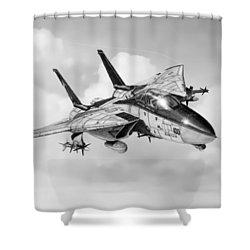 Grumman F-14 Tomcat Shower Curtain