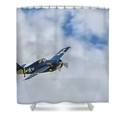 Grumman F4f Wildcat Shower Curtain