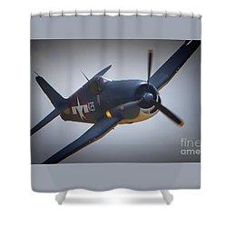Grumman F6f Hellcat K-29 Shower Curtain