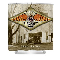 Grumman Wings Shower Curtain