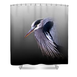 Grumpy Ole Man Shower Curtain by Skip Willits