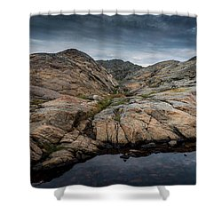 Grundsund, Sweden Shower Curtain