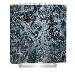 Grunge Background I Shower Curtain by Carlos Caetano