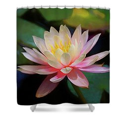 Grutas Water Lilly Shower Curtain