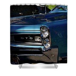 Gto Detail Shower Curtain by Dean Ferreira
