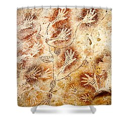 Gua Tewet - Tree Of Life Shower Curtain