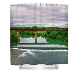 Guadeloupe River Shower Curtain by Kelly Wade