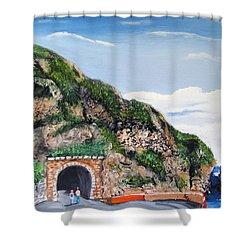 Guajataca Tunnel Shower Curtain