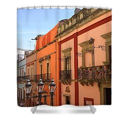 Shower Curtain featuring the photograph Guanajuato by Mary-Lee Sanders