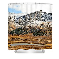 Guanella Pass Colorado Shower Curtain by Beth Riser