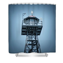 Guard Gulls Shower Curtain