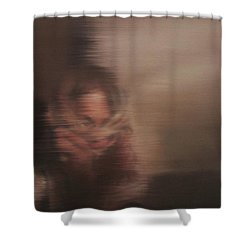 Guarded Shower Curtain