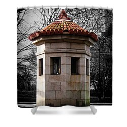 Guardhouse In Prospect Park Brooklyn Ny Shower Curtain