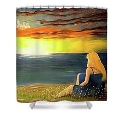 Guardian Angels Shower Curtain
