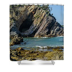 Shower Curtain featuring the photograph Guerilla Bay 4 by Werner Padarin