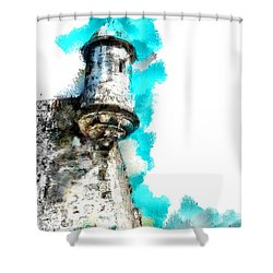 Guerite Shower Curtain
