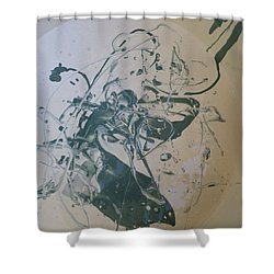 Guerrero Rosales Madrigal Shower Curtain