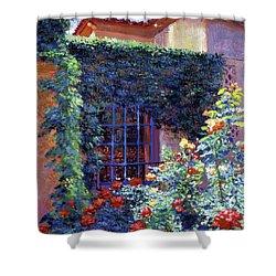 Guesthouse Rose Garden Shower Curtain