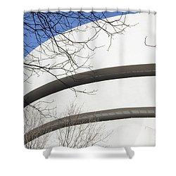 Guggenhiem Color II Shower Curtain
