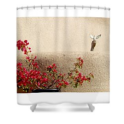 Shower Curtain featuring the digital art Freedom by Ann Johndro-Collins