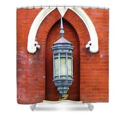Guiding Light At The Mother Church Shower Curtain