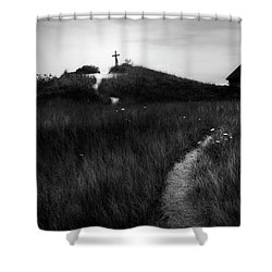 Shower Curtain featuring the photograph Guiding Light by Bill Wakeley