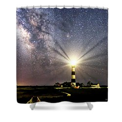 Guiding Light Shower Curtain
