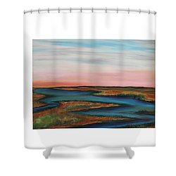 Guilded Edge Shower Curtain