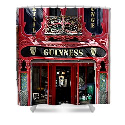 Shower Curtain featuring the photograph Guinness Beer 5 by Andrew Fare