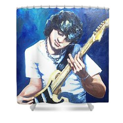 Guitar Love Shower Curtain