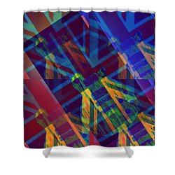 Guitar Revolution Shower Curtain by Bill Cannon
