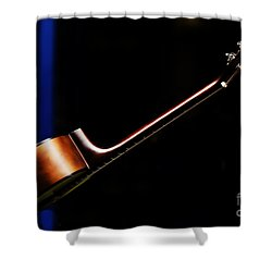 Guitar Shower Curtain by Avalon Fine Art Photography