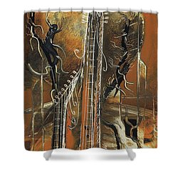Guitar World Shower Curtain